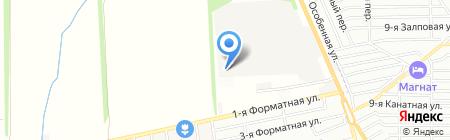 Счастливое детство на карте Ростова-на-Дону