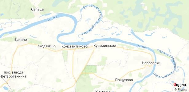 Кузьминское на карте