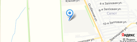 Прада на карте Ростова-на-Дону