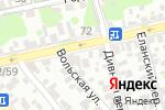Схема проезда до компании Караван в Ростове-на-Дону