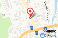 Схема проезда до компании Исида в Красной Поляне