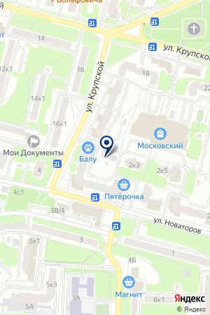 АВТОМАСТЕР СЕТЬ МАГАЗИНОВ на карте Рязани