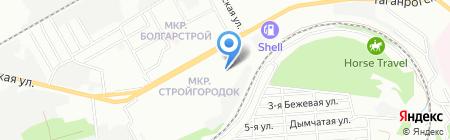 Фитнес-Фрэнд на карте Ростова-на-Дону