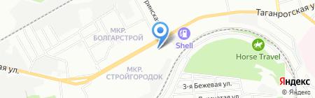 Коллекция желаний на карте Ростова-на-Дону