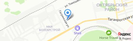 Харизма Дент на карте Ростова-на-Дону