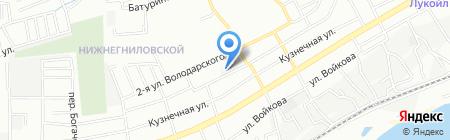 МАП на карте Ростова-на-Дону