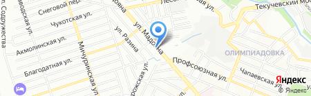 Элеонора на карте Ростова-на-Дону