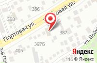 Схема проезда до компании Мастак-Юг в Ростове-на-Дону