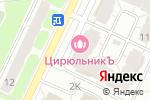 Схема проезда до компании Пышка в Рязани