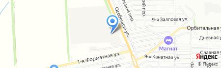 Мир Красок на карте Ростова-на-Дону