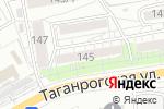 Схема проезда до компании Леди Кружевница в Ростове-на-Дону