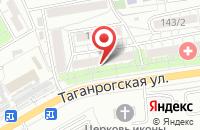 Схема проезда до компании Агентство По Содействию Инвестициям в Ростове-На-Дону