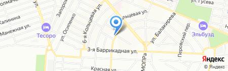 Пингвин на карте Ростова-на-Дону