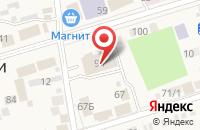 Схема проезда до компании Прохладненский комбинат шампанских вин  в Прохладном