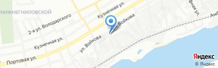 ПластФактор Плюс на карте Ростова-на-Дону