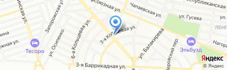 Старое Место на карте Ростова-на-Дону
