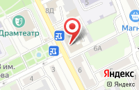 Схема проезда до компании Котлетос в Ярославле