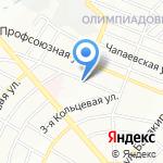 Закусочная на карте Ростова-на-Дону