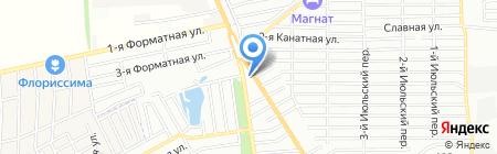 Европул на карте Ростова-на-Дону