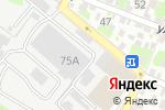 Схема проезда до компании Альфа Климат в Ростове-на-Дону