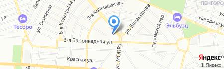 Детский сад №169 на карте Ростова-на-Дону