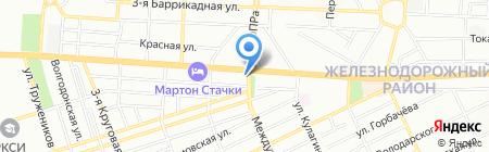 Скайлайн на карте Ростова-на-Дону