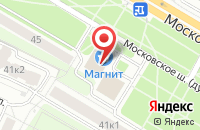 Схема проезда до компании Народный в Рязани