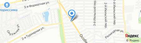 Жемчужный на карте Ростова-на-Дону