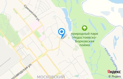 Местоположение на карте пункта техосмотра по адресу г Рязань, ул 1-го Мая, д 2
