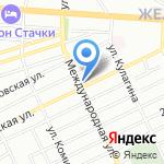 Чистая вода на карте Ростова-на-Дону