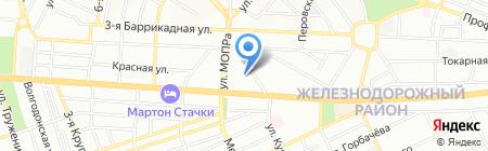 Телеком на карте Ростова-на-Дону