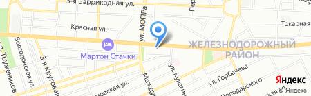 Казачья усадьба на карте Ростова-на-Дону