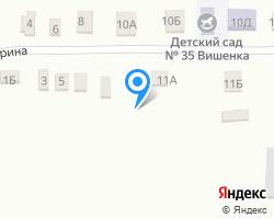 Схема местоположения почтового отделения 346759