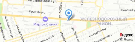 Империал на карте Ростова-на-Дону
