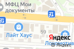 Схема проезда до компании Центр аренды спецтехники в Ростове-на-Дону