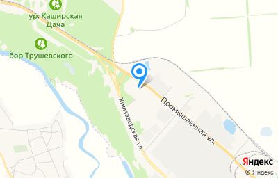 Местоположение на карте пункта техосмотра по адресу Воронежская обл, г Россошь, ул Промышленная, д 6
