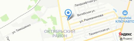Магазин №16 на карте Ростова-на-Дону