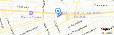 Стоматологическая поликлиника №5 на карте Ростова-на-Дону