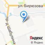 Рязанский станкостроительный колледж на карте Рязани