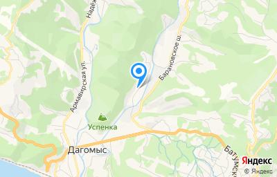 Местоположение на карте пункта техосмотра по адресу Краснодарский край, г Сочи, ул Российская