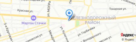 Anex tour на карте Ростова-на-Дону