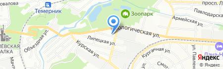 Почтовое отделение №39 на карте Ростова-на-Дону