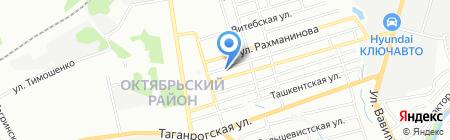 Бухгалтерия Дона на карте Ростова-на-Дону