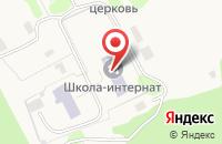 Схема проезда до компании Костинская специальная коррекционная школа-интернат для детей-сирот и детей в Пощупово