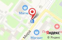 Схема проезда до компании Вологодский хлебокомбинат в Молочном