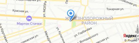 Юлмакс на карте Ростова-на-Дону