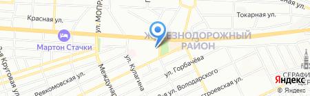 Клининг-Центр на карте Ростова-на-Дону