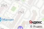 Схема проезда до компании Оптика на Вишнёвой в Рязани