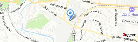 Климат Мастер на карте Ростова-на-Дону
