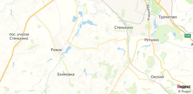 Взметнево на карте
